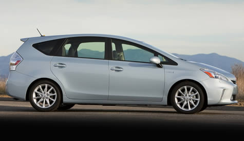2012 Prius v First Drive