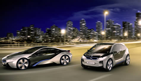 World's First Look: BMW iBrand i3 and i8 Concepts